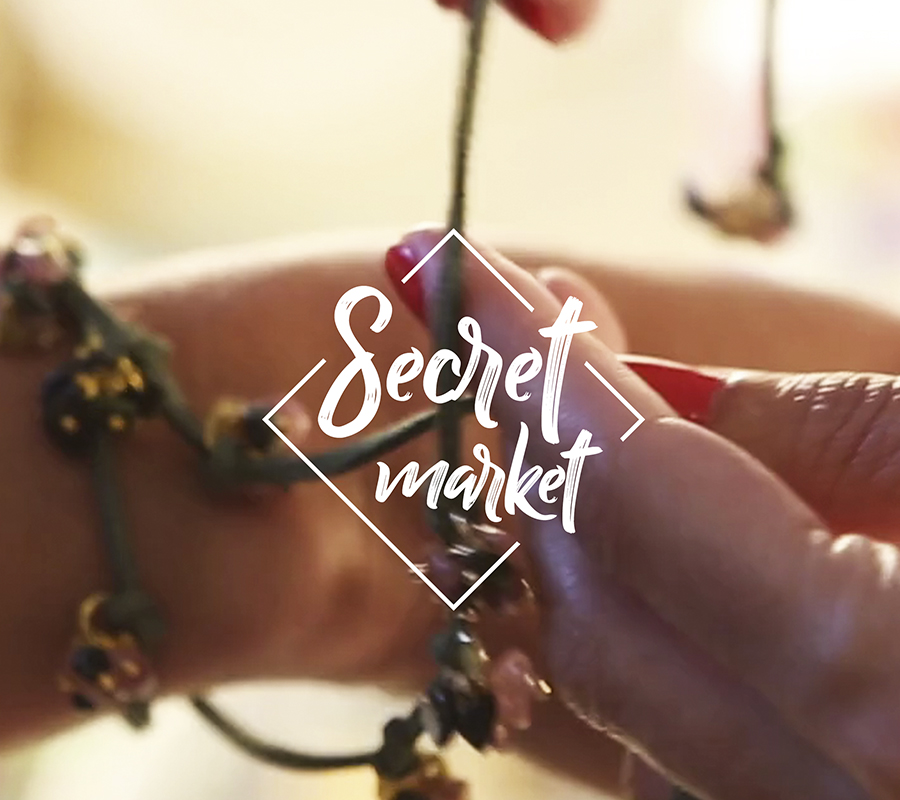 SECRET MARKET by Bedandchic
