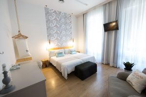 habitacion estandar con vistas bed and chic