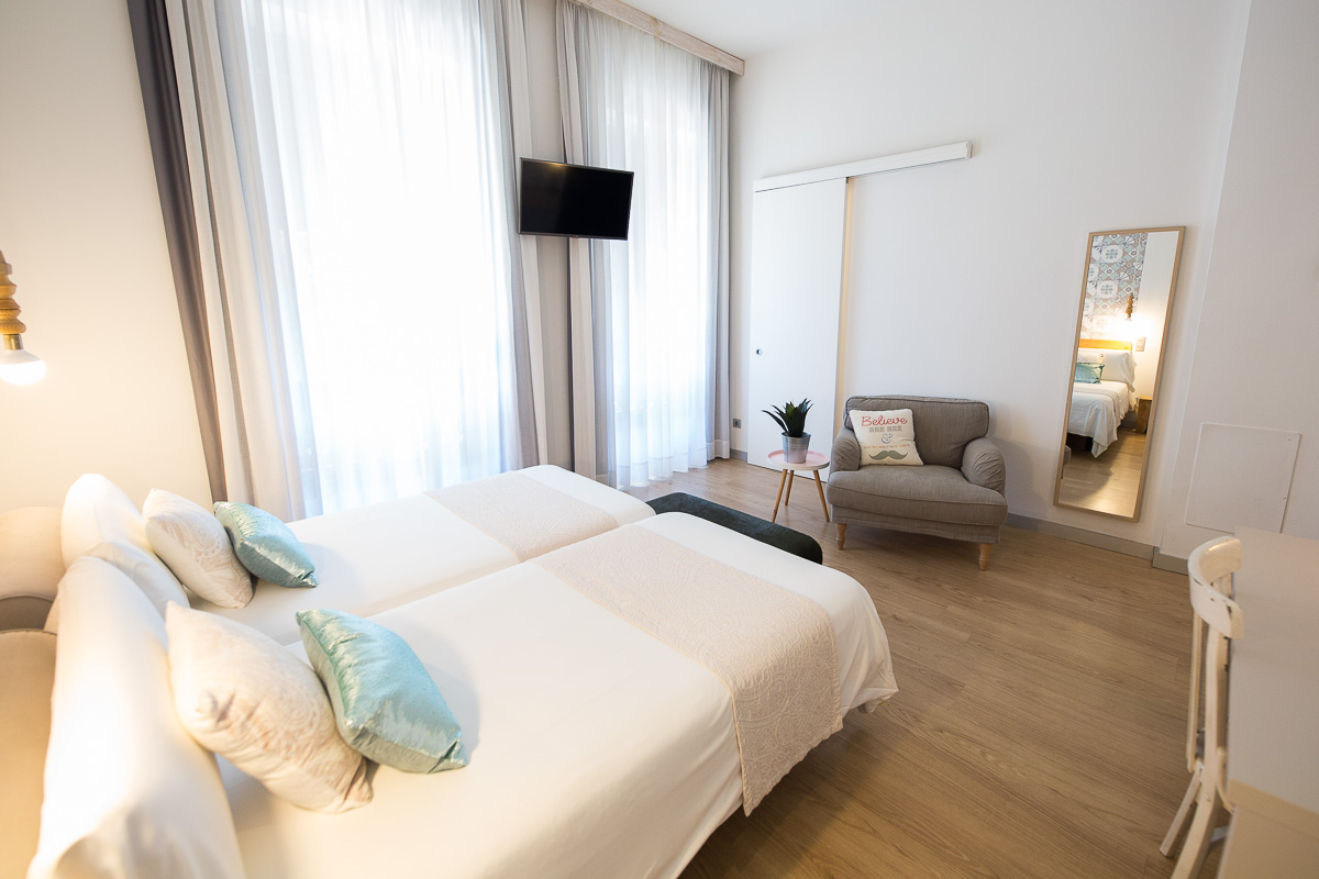 habitacion estandar con vistas bed and chic