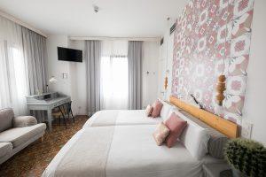 habitacion superior vistas hotel bed and chic las palmas