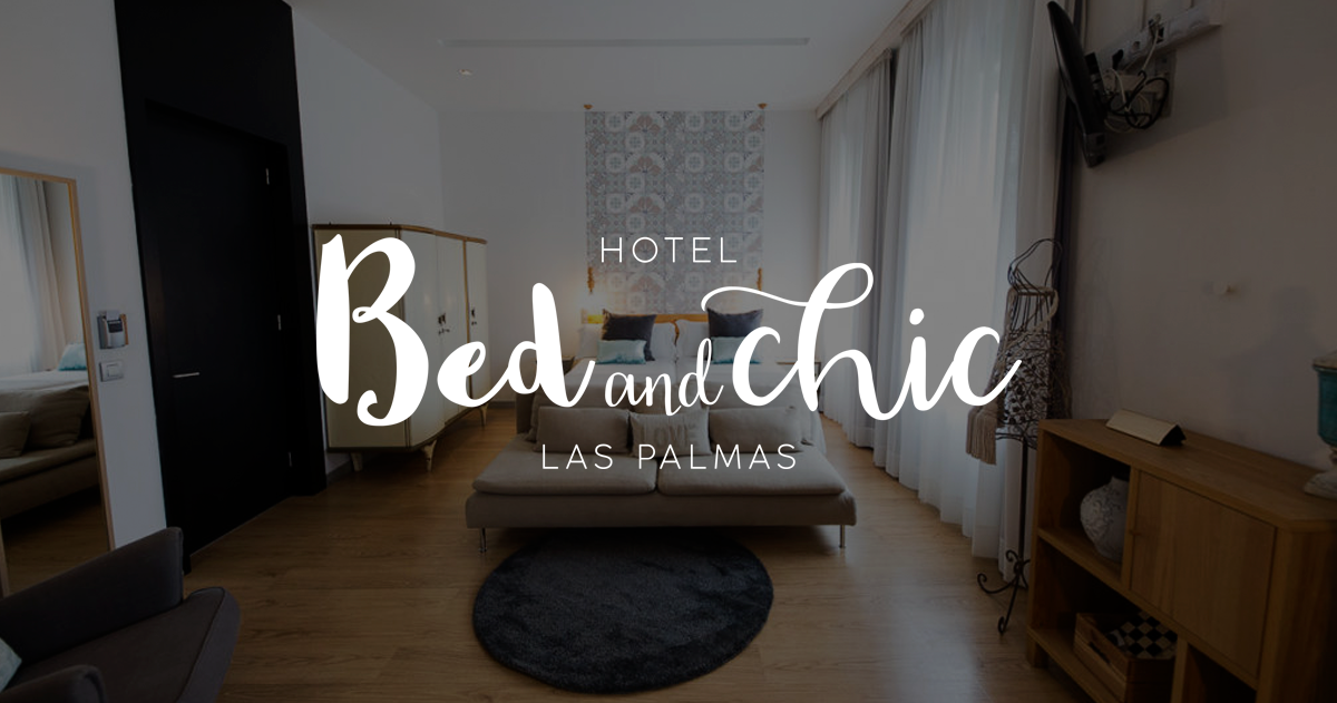 habitacion hotel bed and chic las palmas